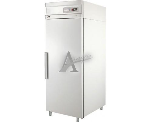 Холодильный шкаф с металлическими дверьми CM105-S