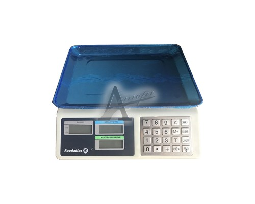 Фотография Торговые весы Foodatlas 40кг/2гр ВТ-982S 7