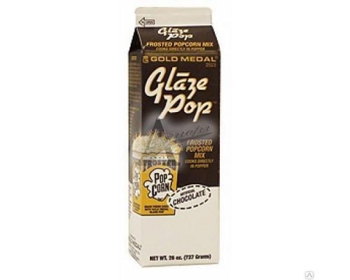 """фотография Glaze Pop 2523 сладкая добавка """"Choco"""" шоколад  737г 4"""