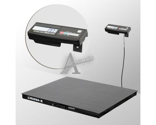 Весы платформенные 4D-PM-1-1000-A (1000х1000х75 мм) конструкц. сталь