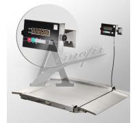 фотография Весы напольные низкопрофильные 4D-LA.S-10/10-1000-AB (1000х1000 мм) пандусы, нерж. сталь 11