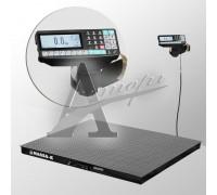 фотография Весы платформенные напольные 4D-PM-15/12-1000-RP (1500х1200 мм) конструкц. сталь 9