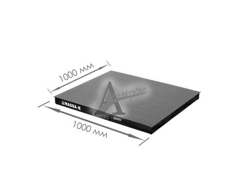 фотография Весовая платформа 4D-PМ-1-1000 (1000х1000х75 мм) конструкц. сталь 1
