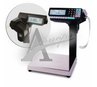 Весы с печатью этикеток МК-15.2-R2P10  весы регист торговые с печатью этикеток, без подмотки