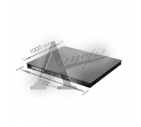 фотография Весовая платформа 4D-PМ-1-500 (1000х1000х75 мм) конструкц. сталь 1