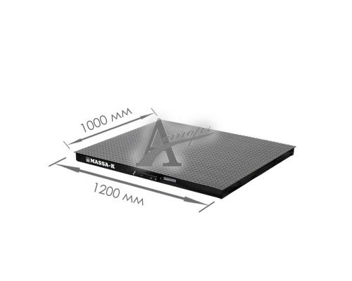 Весовая платформа 4D-PМ-2-500 (1200х1000x75мм) конструкц. сталь