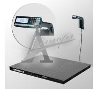фотография Весы платформенные напольные 4D-PM-12/10-1000-RL (1200х1000 мм) конструкц. сталь 3