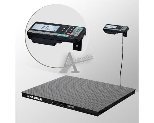 Весы платформенные 4D-PM-1-500-RA (1000х1000х75 мм) конструкц. сталь