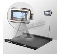 Весы низкопрофильные 4D-LA-2-1000-AB (1000х1000 мм) пандусы, констр. сталь