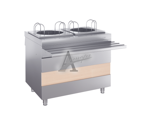 Ривьера - модуль подогрева тарелок 2-х секц. (950 мм)