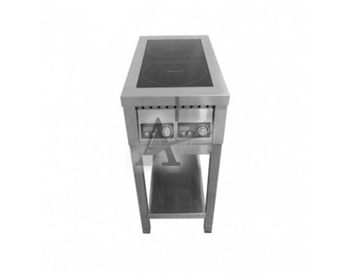 фотография Плита индукционная ЦМИ ПИ-2 (460х850х870 мм) закрытая 6