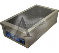 фотография Плита индукционная ЦМИ ПИ-2Н(1х5) (460х850х250 мм) 7