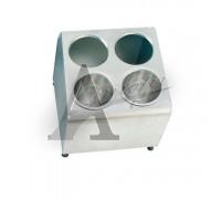 фотография Контейнер для хранения столовых приборов EKSI FCH42 (4 ячейки в два ряда) 13