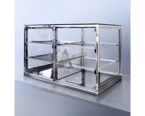 Фотография Встраиваемая горизонтальная кондитерская витрина ФИНИСТ AQUARIUM ВХВс-4 15
