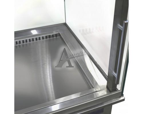 Фотография Встраиваемая горизонтальная кондитерская витрина ФИНИСТ Glassier58 G-1 10