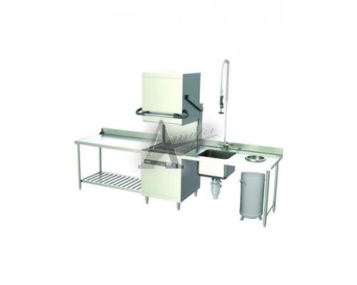Купольная посудомоечная машина GASTRORAG HDW-80