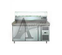 фотография Стол холодильный для пиццы GASTRORAG PZ 2600 TN/VRX 1500/380 8