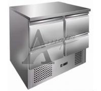 фотография Стол холодильный GASTRORAG S901 SEC 4D (внутренний агрегат) 1
