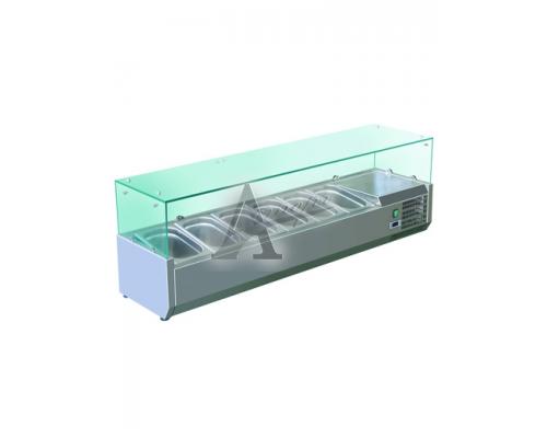 фотография Витрина холодильная GASTRORAG VRX 1500/380 5
