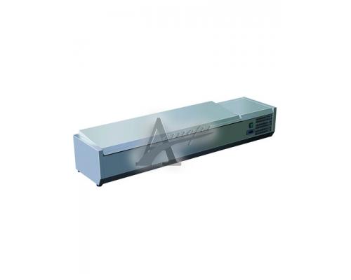 фотография Витрина холодильная GASTRORAG VRX 1600/330 s/s 4