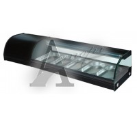 фотография Витрина холодильная GASTRORAG VRX-SSS1500 2