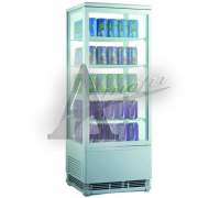 фотография Холодильный шкаф витринного типа GASTRORAG RT-98W 1