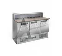 фотография Стол холодильный для пиццы GASTRORAG PS903 SEC 8