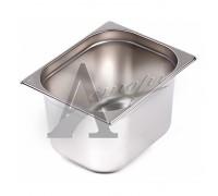 фотография Гастроемкость Hurakan GN 1/2-200 (325x265x200) нерж. сталь 2