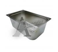 фотография Гастроемкость Hurakan GN 1/1-100 (530x325x100) нерж. сталь 1
