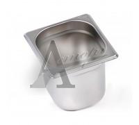 фотография Гастроемкость Hurakan GN 1/6-150 (176x162x150) нерж. сталь 1