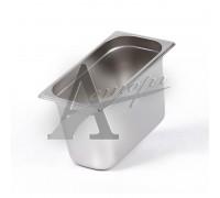фотография Гастроемкость Hurakan GN 1/3-200 (325x176x200) нерж. сталь 4