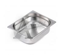 фотография Гастроемкость Hurakan GN 1/2-100 (325x265x100) нерж. сталь 1