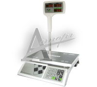 """Торговые настольные весы M-ER 326ACPX-32.5 """"Slim'X"""" LED Белые"""