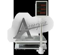 """Торговые настольные весы M-ER 326ACP-32.5 """"Slim"""" LCD Белые"""