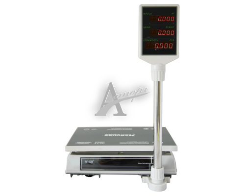 """фотография Торговые настольные весы M-ER 326ACP-32.5 """"Slim"""" LCD Белые 10"""