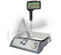 """Торговые настольные весы M-ER 326ACP-15.2 """"Slim"""" LCD Белые"""