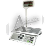 """Торговые настольные весы M-ER 326ACPX-15.2 """"Slim'X"""" LED Белые"""