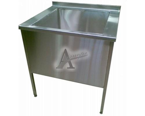 Ванна моечная односекционная ВМн1.500 (500х500х860 гл.300)