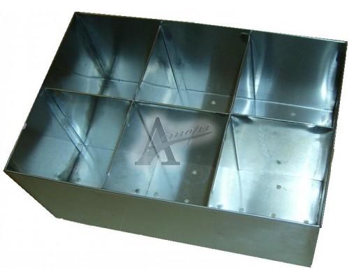 Кассета для столовых приборов КП-2 (300х200х100мм) 6ячеек