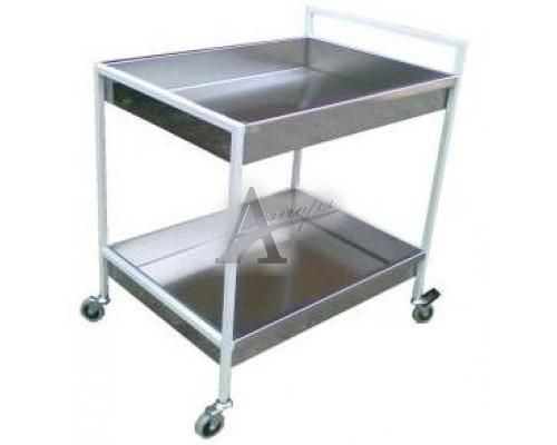 Тележка для сбора посуды ТП 852 (800х500х900) 2 полки