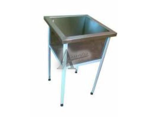 Ванна моечная односекционная ВМ1.700 (700х700х860 гл.300)п/б
