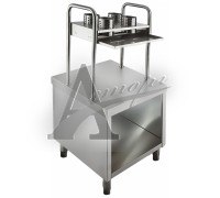 фотография Прилавок для подносов и столовых приборов Rada ПП-1-6/7СН Дана 6