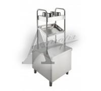 фотография Прилавок для подносов и столовых приборов Rada ПП-2-6/7СХН 1