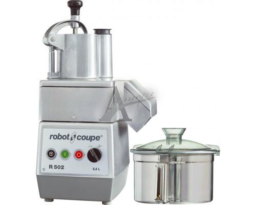 Robot Coupe Кухонный процессор (куттер-овощерезка) R502 /8 нож.