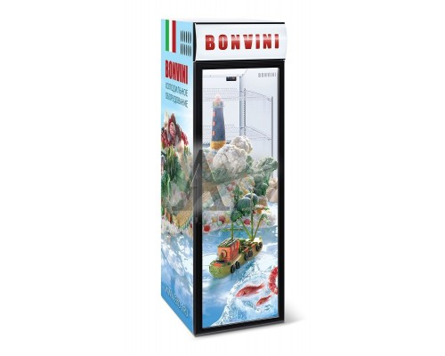 Шкаф со стеклом Bonvini 500 BGС