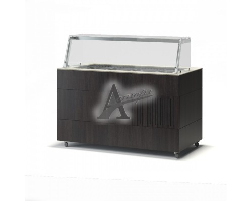 Фотография Салат-бар тепловой ТММ Антарес-Премиум ВВМТ/ЗСН 3 GN1/1 (1200х750х1350) 15
