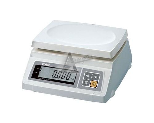 Весы порционные электронные CAS SW-I-20 (один дисплей)