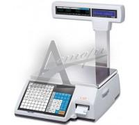 Торговые весы CAS с печатью этикеток CL-5000-15P