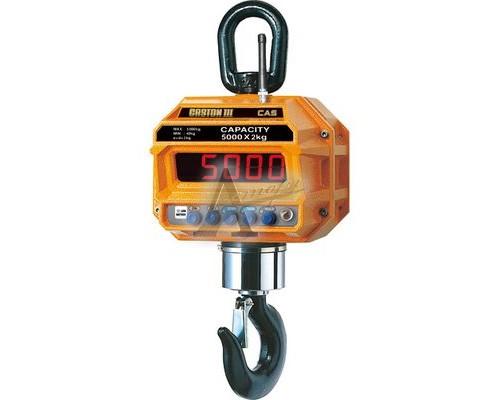 Весы крановые электронные CAS Caston-III 2 THD