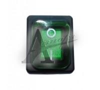 фотография Переключатель влагостойкий 3INB4MASK48N1E21 зелёный для КПЭМ/ШРТ 120000060541 7